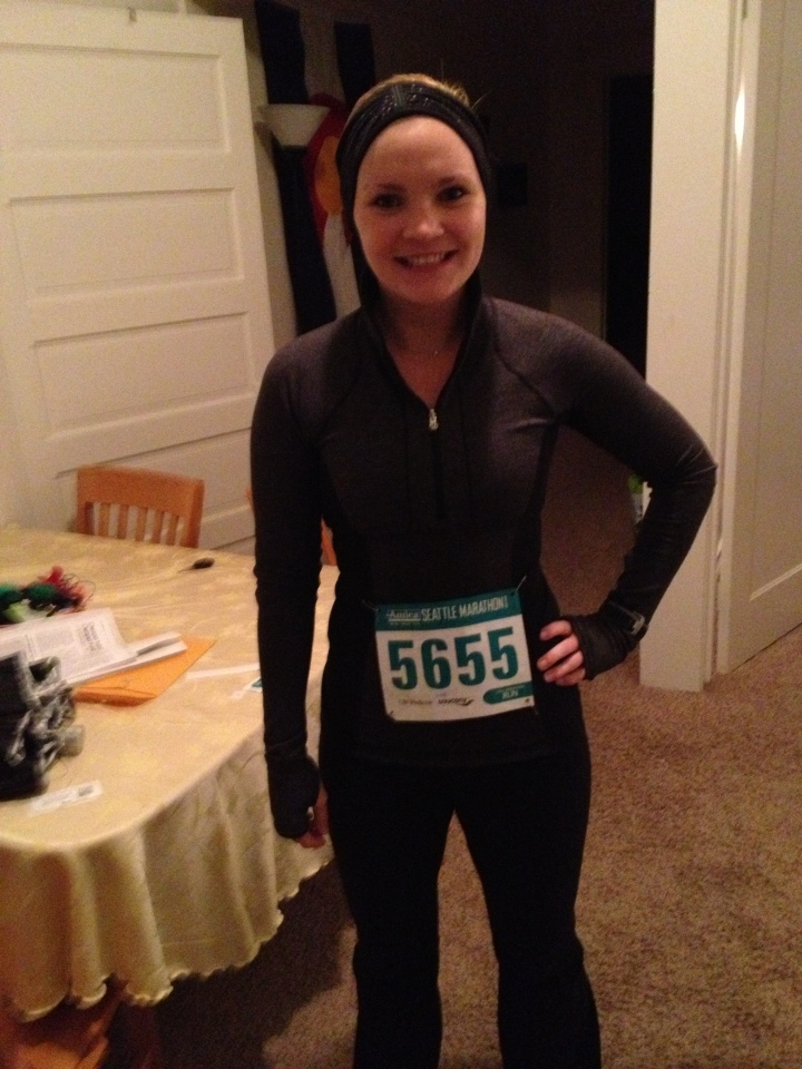 Bundled up and ready to run!