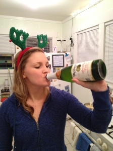 I discovered Martinelli's and whiskey this weekend. Life. Changed.