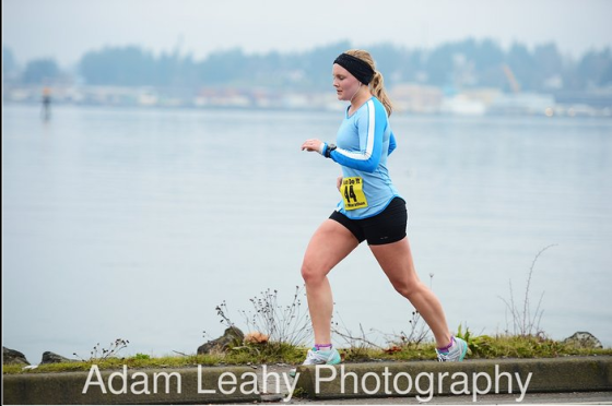 According to this batch of race photos, I close my eyes a lot while racing. Sleepy? Defense mechanism? Also #LEGS. Gross.