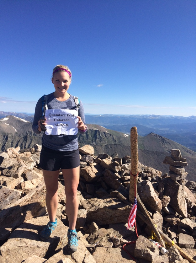 14er number 9 of the summer!